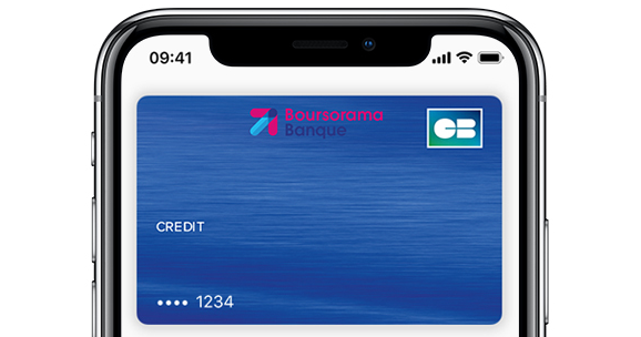Apple Pay, disponible pour les clients de Boursorama Banque
